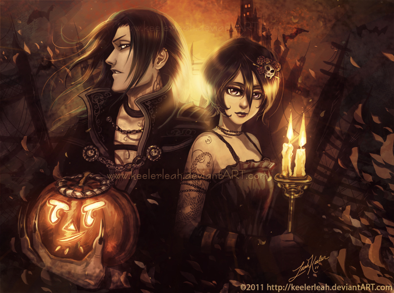 Bleach Halloween Byakuya Rukia