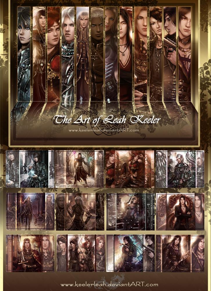 Fantasy Art Calendar III by keelerleah