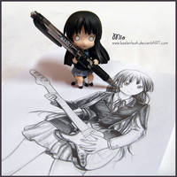 Mio Self Portrait: Caught in the Act