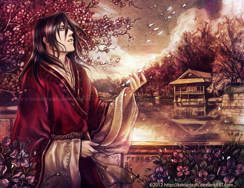 Bleach - Farewell Byakuya Kuchiki - by keelerleah