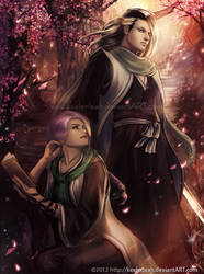Bleach - Byakuya Kuchiki and TeShiera