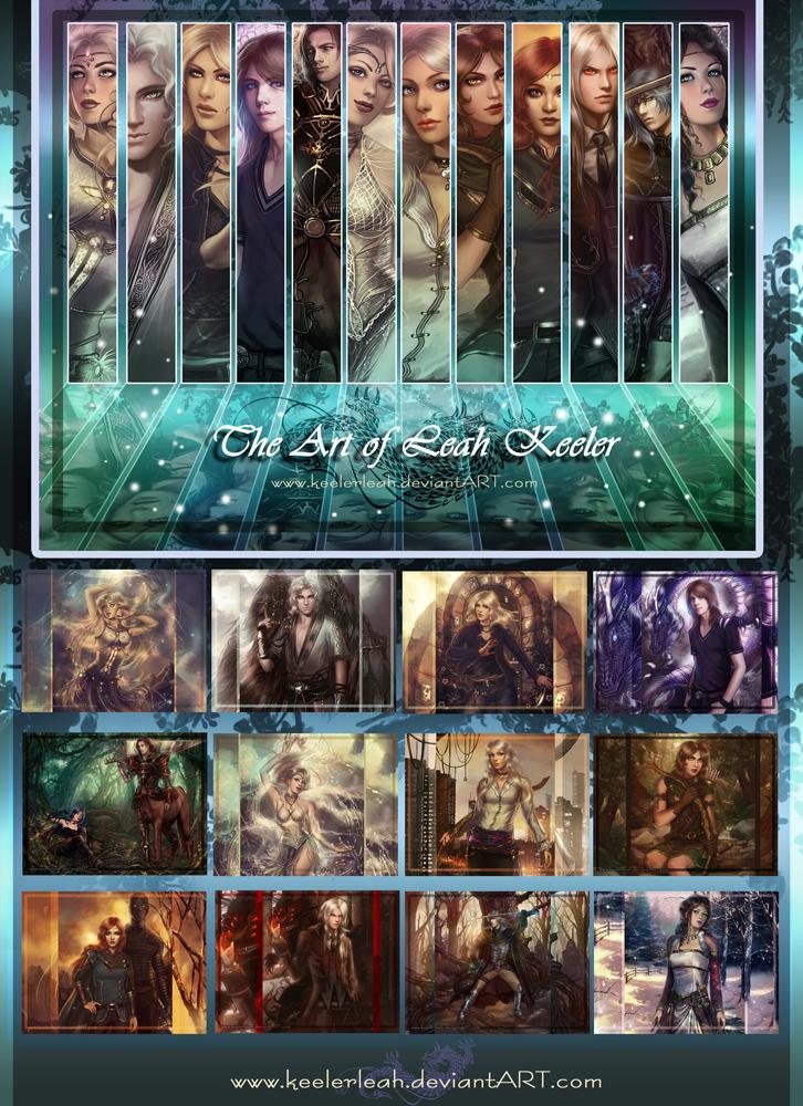 2013 Fantasy Art Calendar by keelerleah