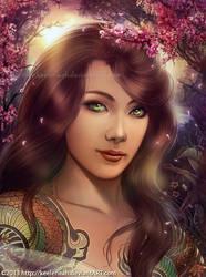 Emerald Eyes by keelerleah
