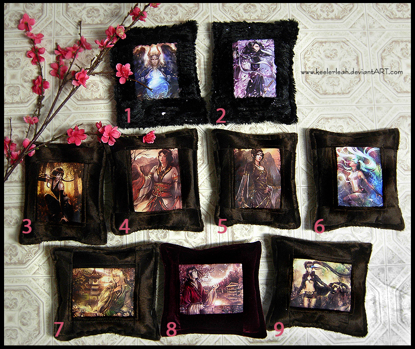 New Print Pillows for Sale by keelerleah on deviantART