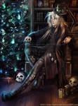A Kuroshitsuji Christmas- Undertaker by keelerleah