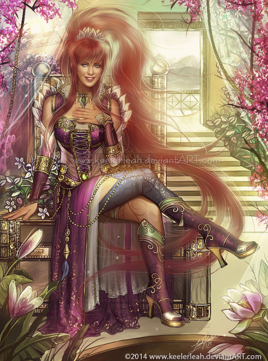 Fire Lily by keelerleah
