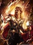 Thor Odinson by keelerleah