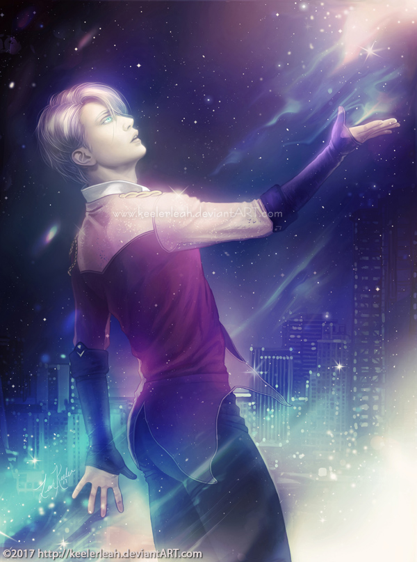Yuri on Ice: Victor Nikiforov by keelerleah