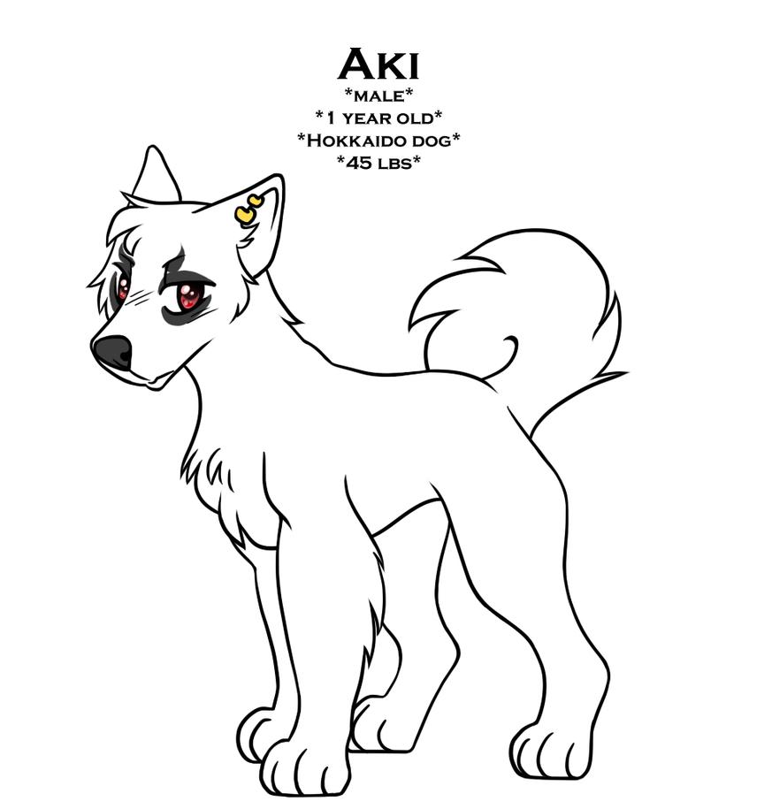 aki ref by dog-san