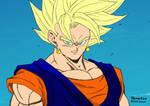 Dragon Ball - Vegito/Vegetto SSJ by Yamasan