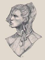Commission portrait by SophieJinny