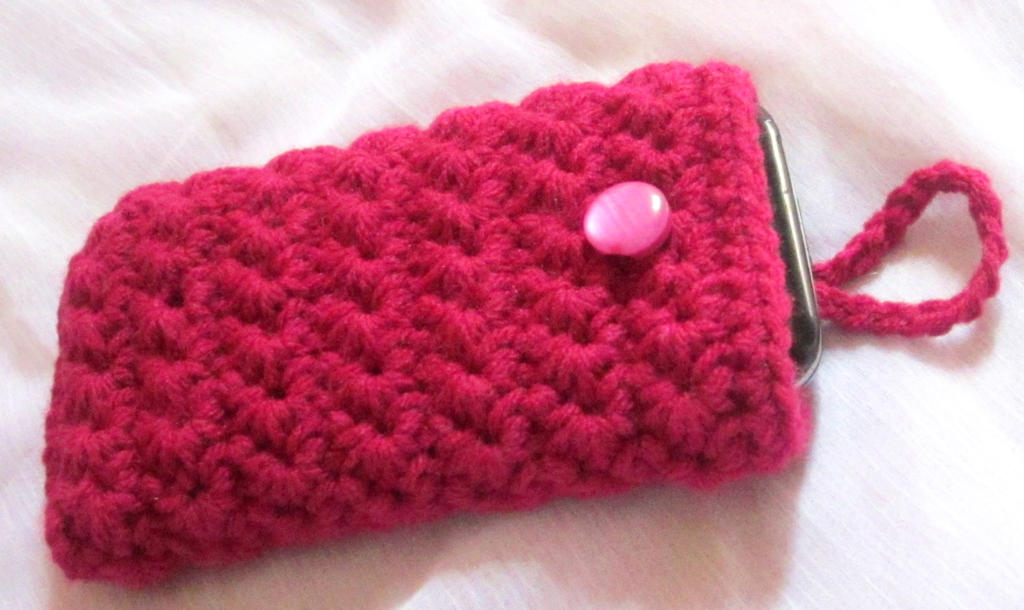Free Crochet Pattern Mobile Phone Case : Crochet Phone case by Anitadoma on DeviantArt