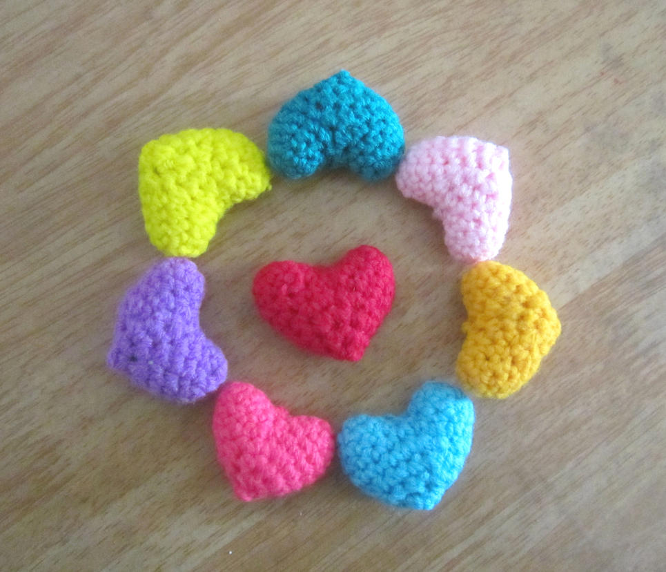 Amigurumi Heart : Amigurumi Heart by Anitadoma on DeviantArt