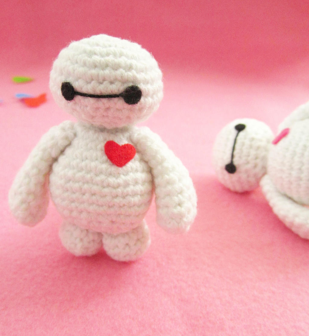 Crochet Amigurumi Baymax Pattern : Baymax amigurumi free pattern by Anitadoma on DeviantArt