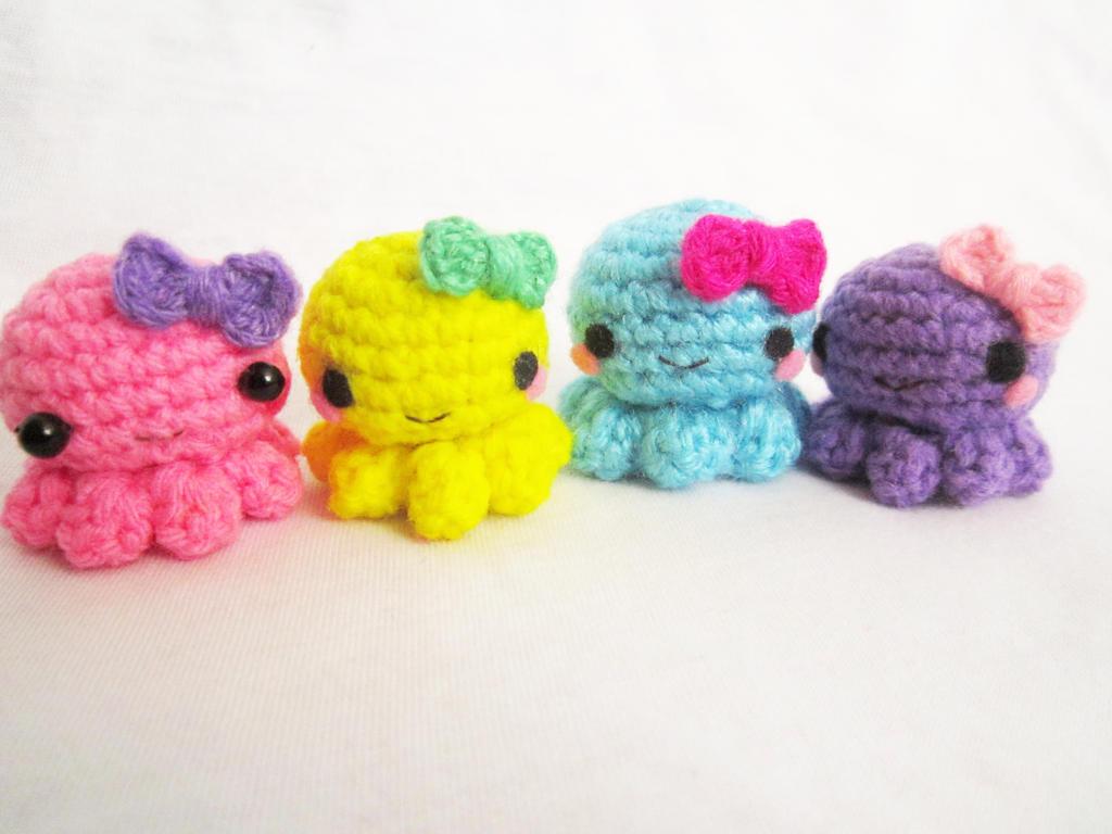 Crochet Amigurumi For Baby : Amigurumi baby octopus by anitadoma on deviantart