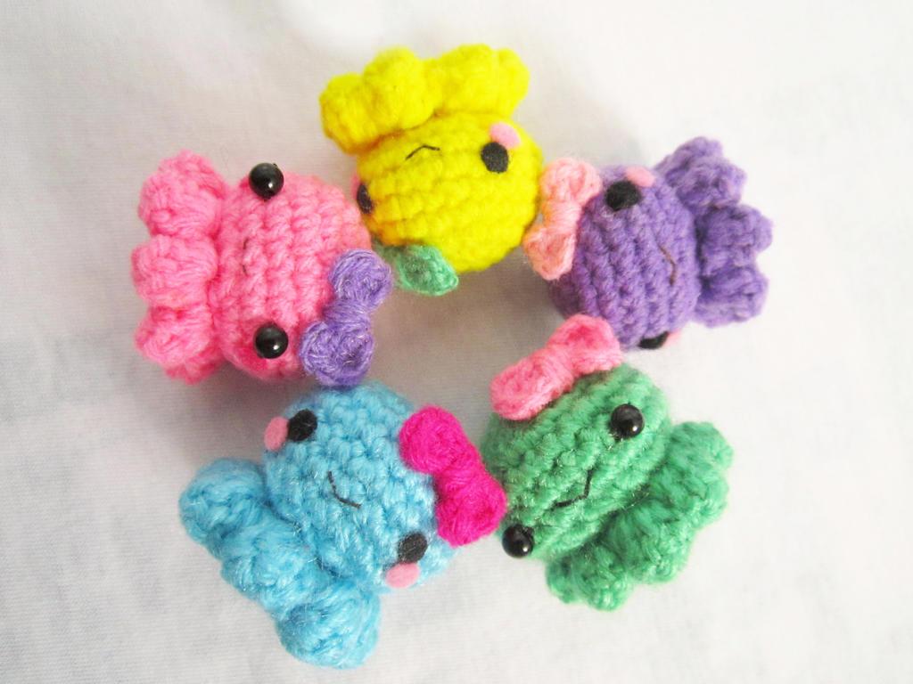 Amigurumi baby octopus :) by Anitadoma on DeviantArt