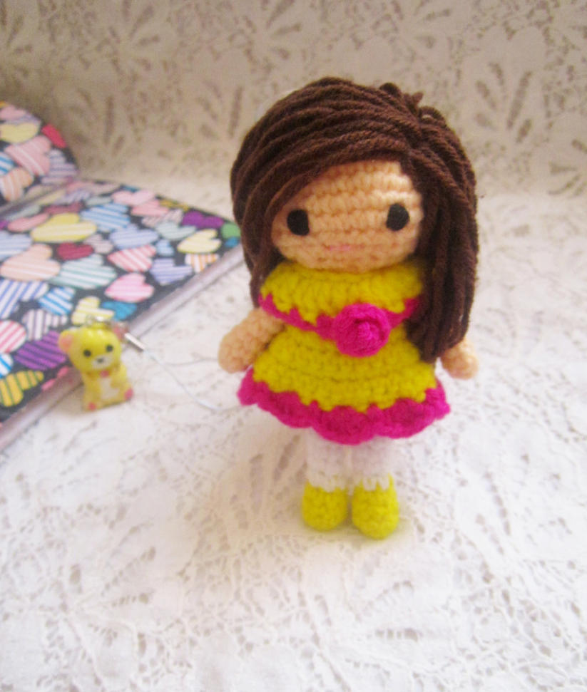 Free Crochet Amigurumi Duck Patterns : Little amigurumi doll free pattern by Anitadoma on DeviantArt