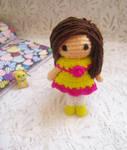 Little amigurumi doll free pattern