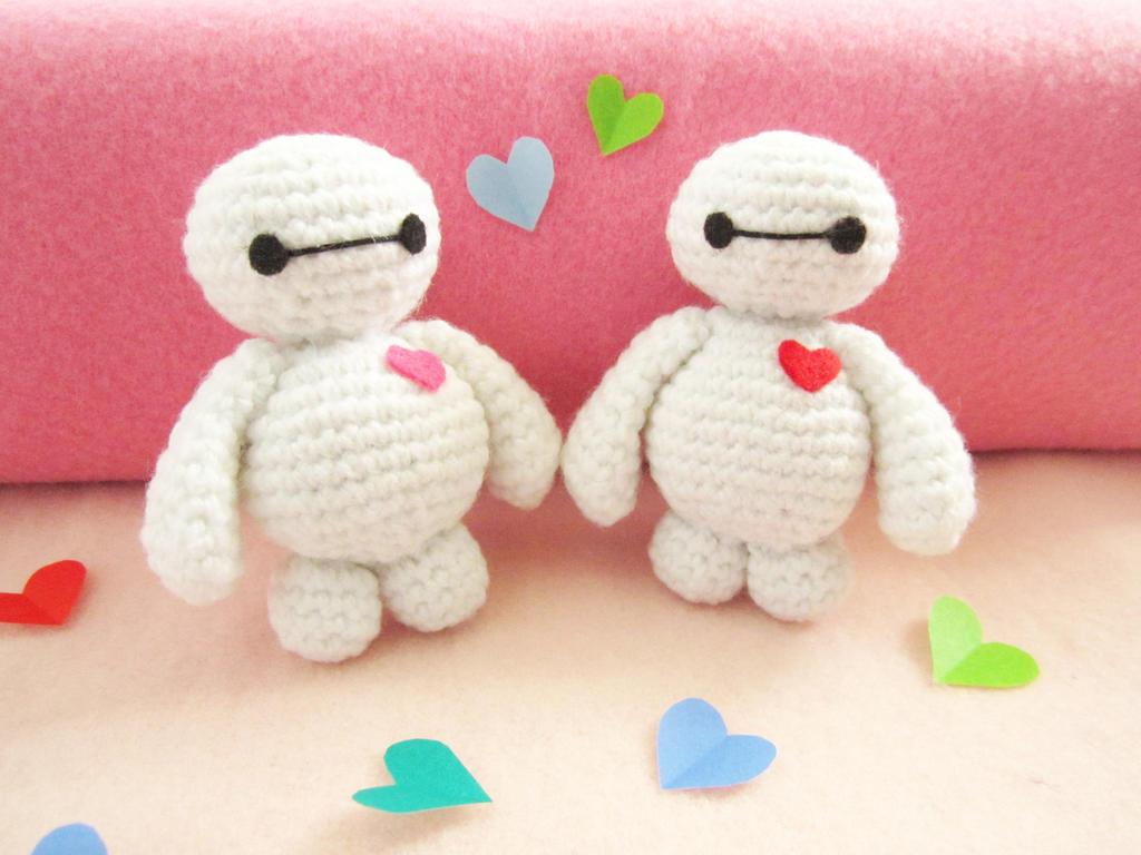 Crochet Amigurumi Baymax Pattern : Baymax amigurumi by Anitadoma on DeviantArt