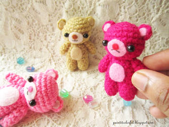 Amigurumi Thank You Teddy Bear Knitting Free Pattern - Crochet ... | 250x333