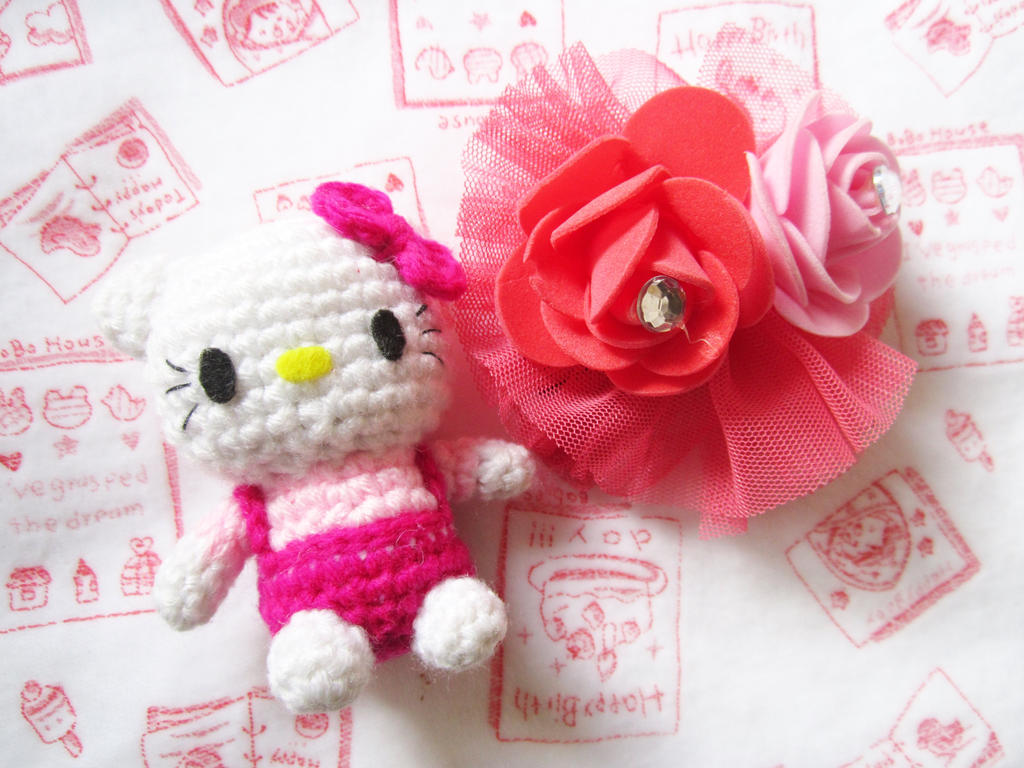 Free Pattern Crochet Hello Kitty : Hello Kitty Amigurumi free pattern. by Anitadoma on DeviantArt