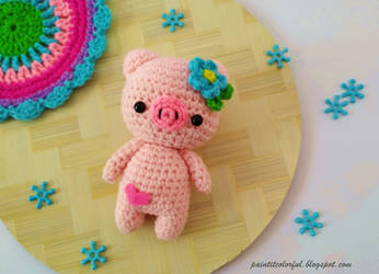 Peppa Pig - free crochet pattern - Amigurumi Today | 250x346