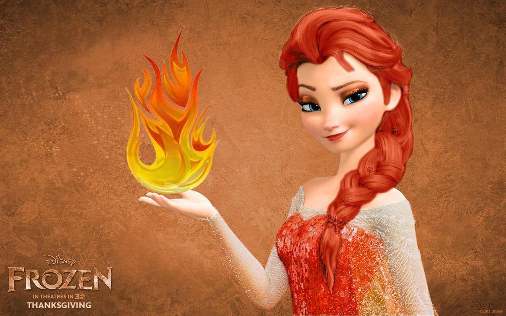 Fire Elsa Belanekra Frozen 2013 Archive Of Our Own