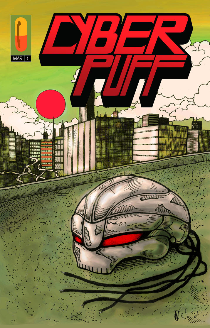 CYBER PUFF Cover by Whitsteen