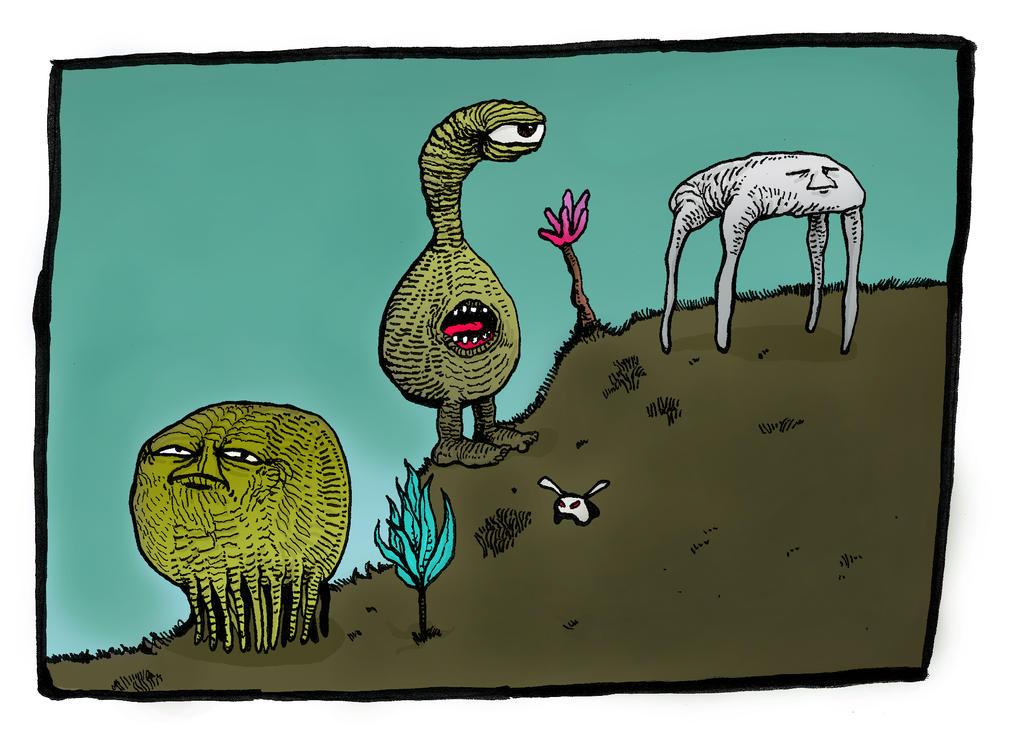 Delta Zenamore Creatures by Whitsteen