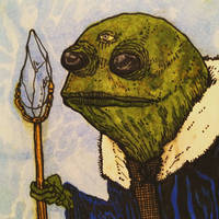 Frog Wizard  by Whitsteen