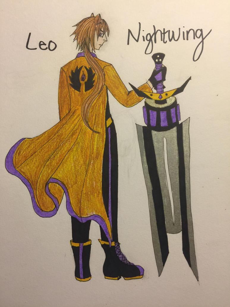 Rwby OC: Leo Nightwing by Tribalwinds
