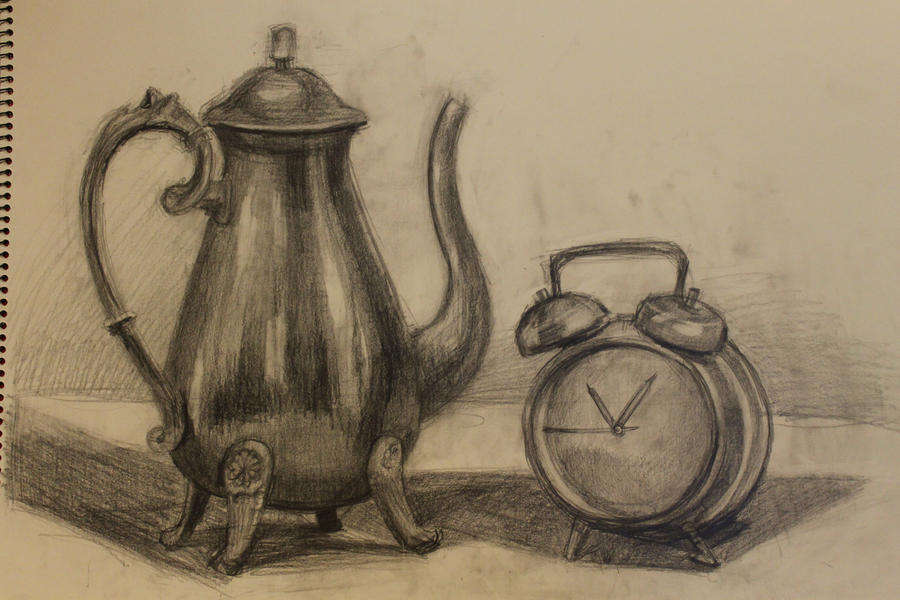 Still Life Drawing By Asianboy Xhfpn