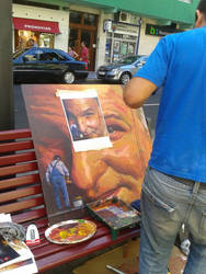 painting in the open air