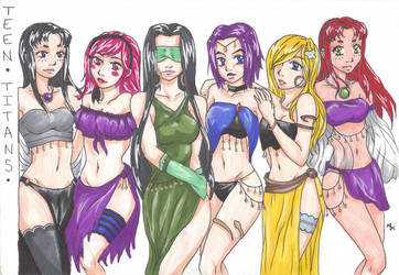 Gypsy Teen Titans Remade after 4 yrs by JaguarGoddessCosplay