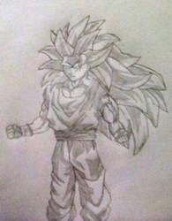 SSJ3 Goku by SketchPD