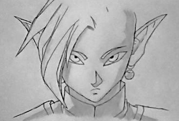 Zamasu (Dragon Ball Super) by SketchPD