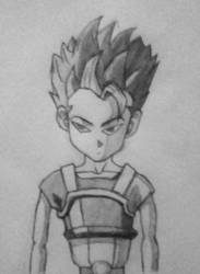 Cabba (Dragon Ball Super) by SketchPD