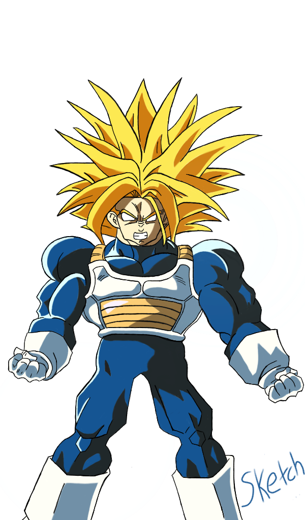 Buff Trunks (Updated) by SketchPD