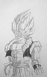 Gogeta - Dragon Ball Z by SketchPD