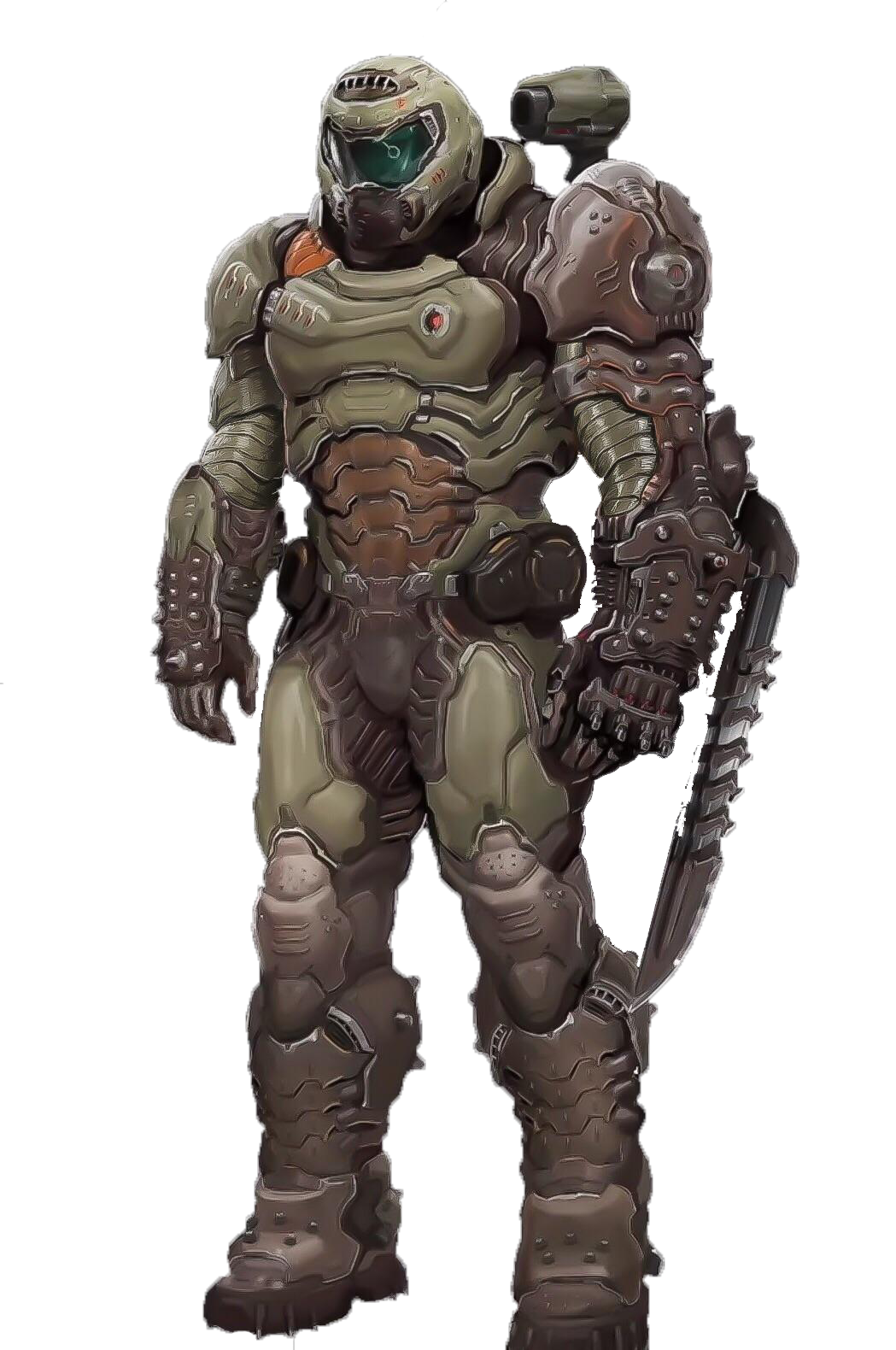 Ultimate Destiny 01 The Doom Slayer By Enriksd8 On Deviantart
