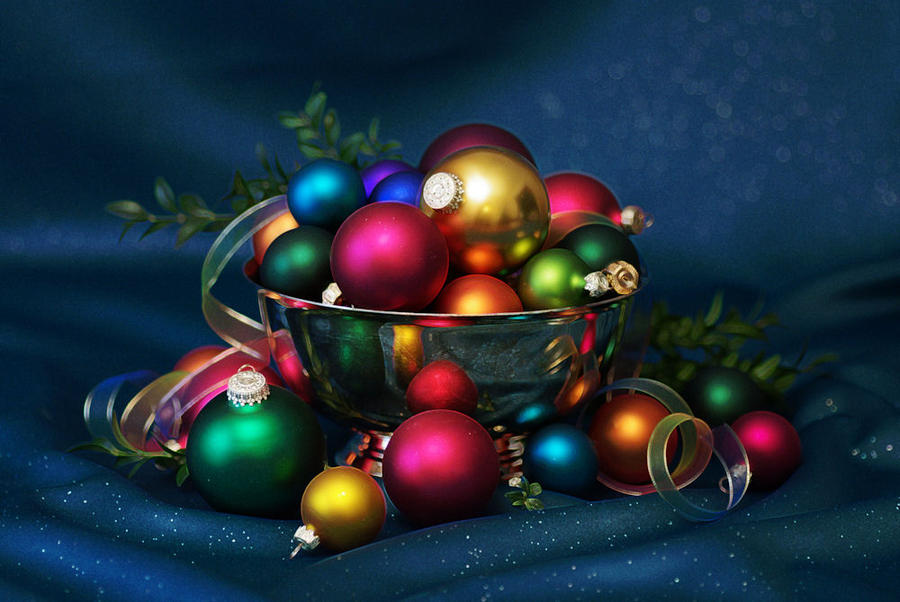 Christmas Colors Bright by barcon53