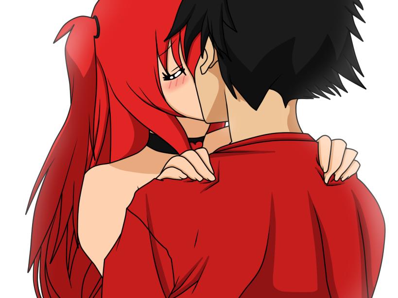 Kiss me like it's do or die by Akane089