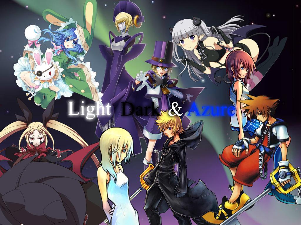 Light, Dark and Azure by Akane089