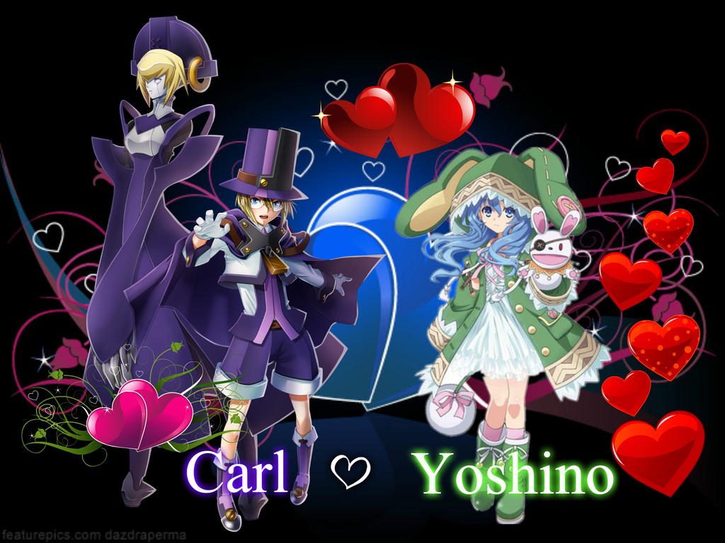 Carl x Yoshino by Akane089