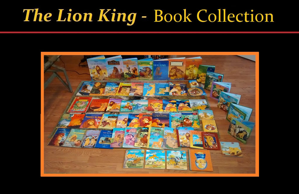 The Lion King  Book Collection by LionKingFanatic on DeviantArt