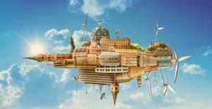 City in the Sky by JoshDykgraaf