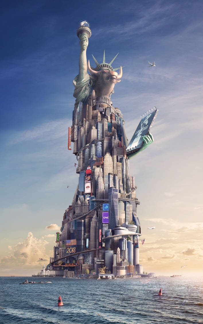 Lady Liberty by JoshDykgraaf