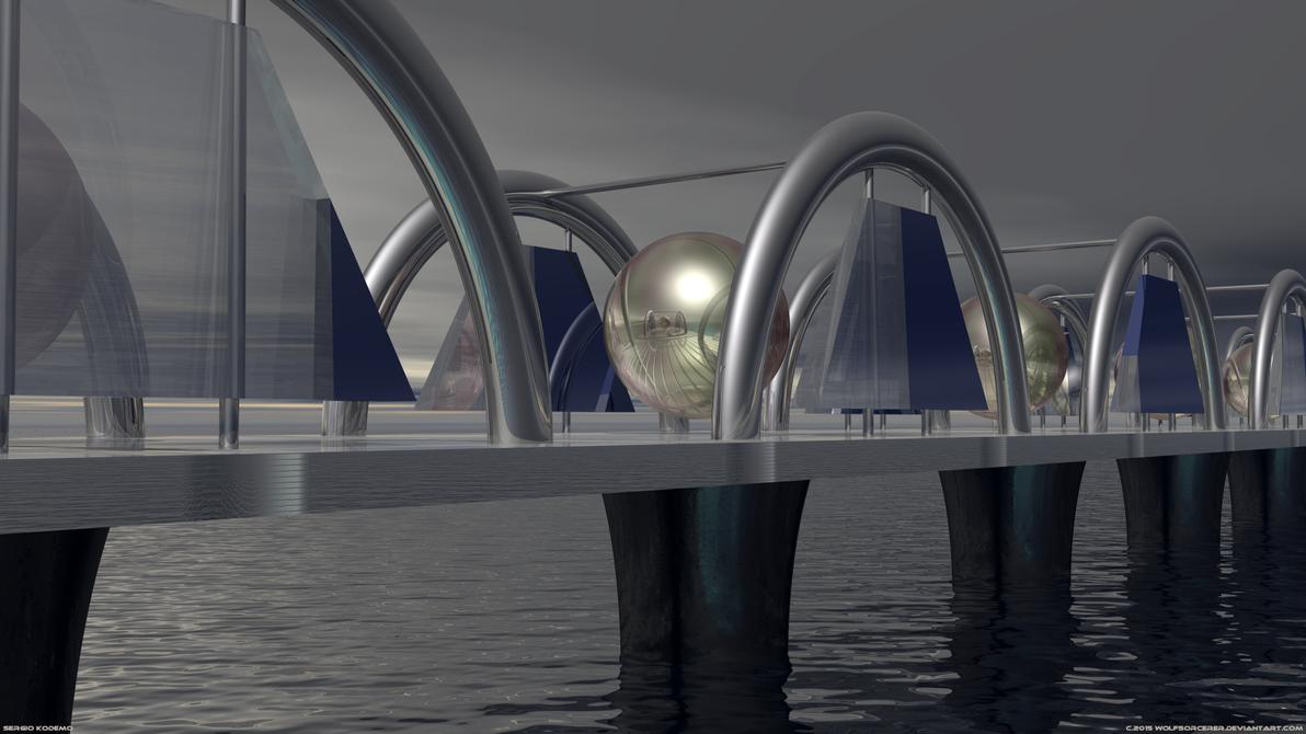 Viaduct by WolfSorcerer