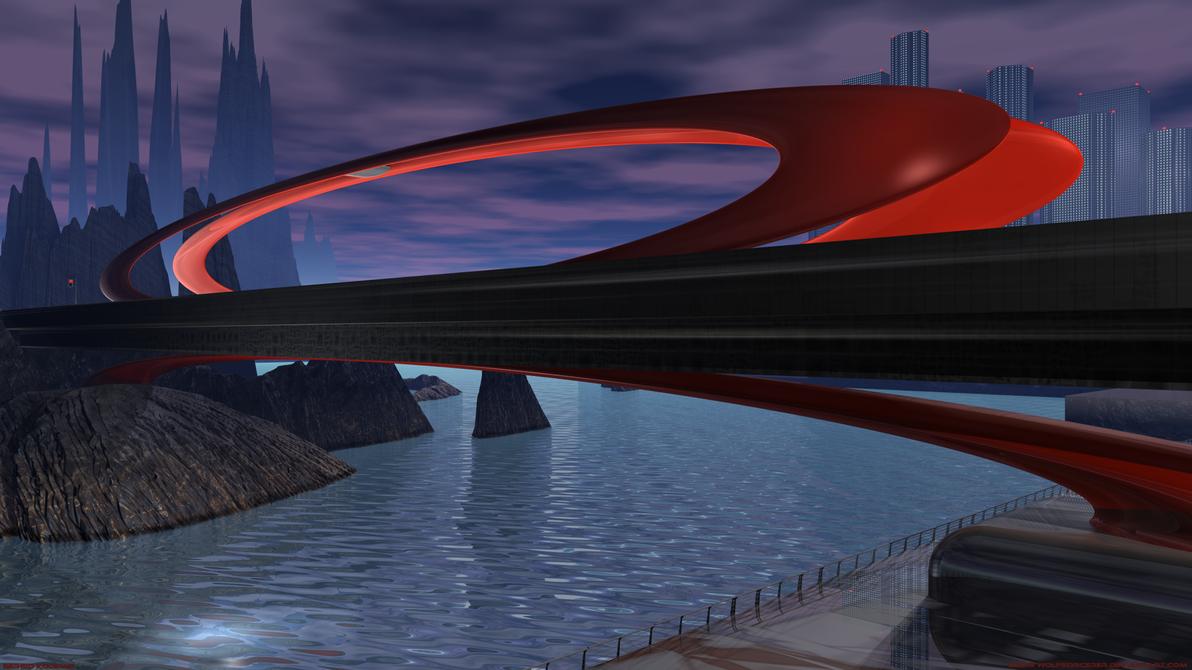 Forbidden Bridge v2 by WolfSorcerer