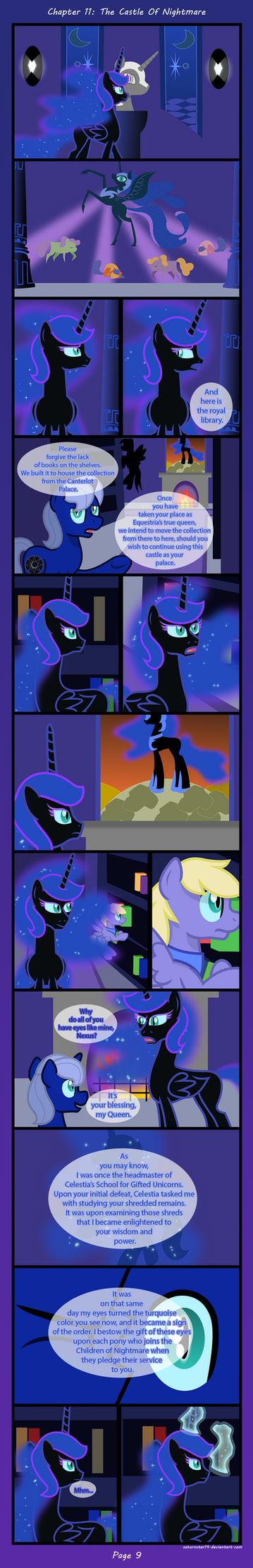 Past Sins: The Castle Of Nightmare P9 by SpokenMind93